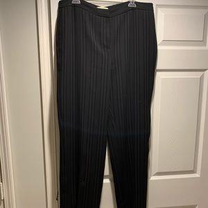 Valerie Stevens Black Plus Size Suit Pants